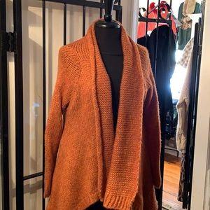 Kedziorek knit duster, with pockets